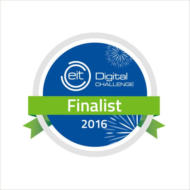 EIT Digital Challenge Finalist