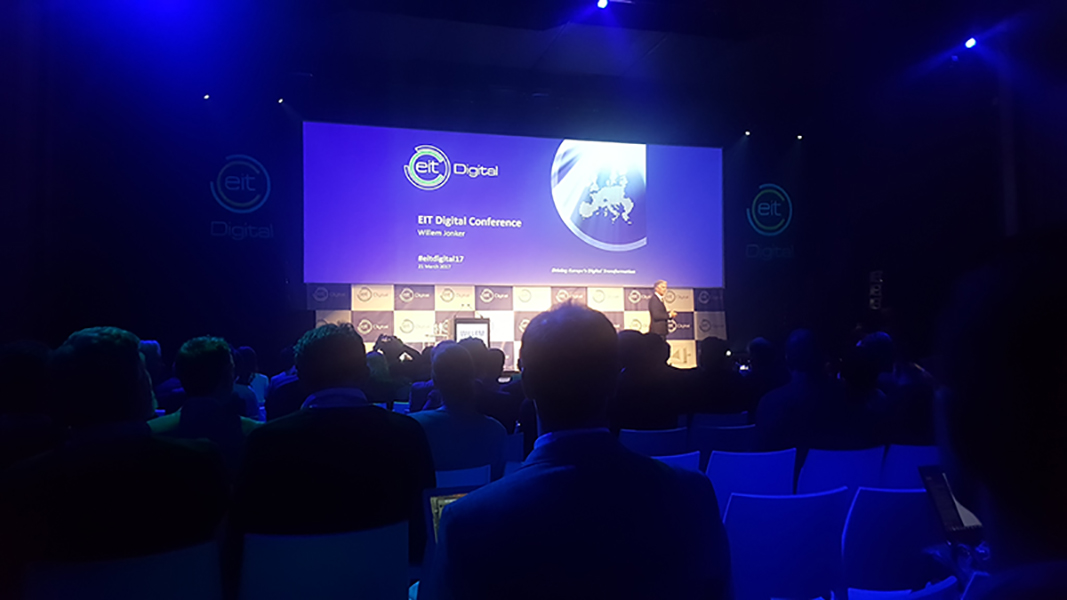 TUC at the EIT Digital Conference 2017, Brussels