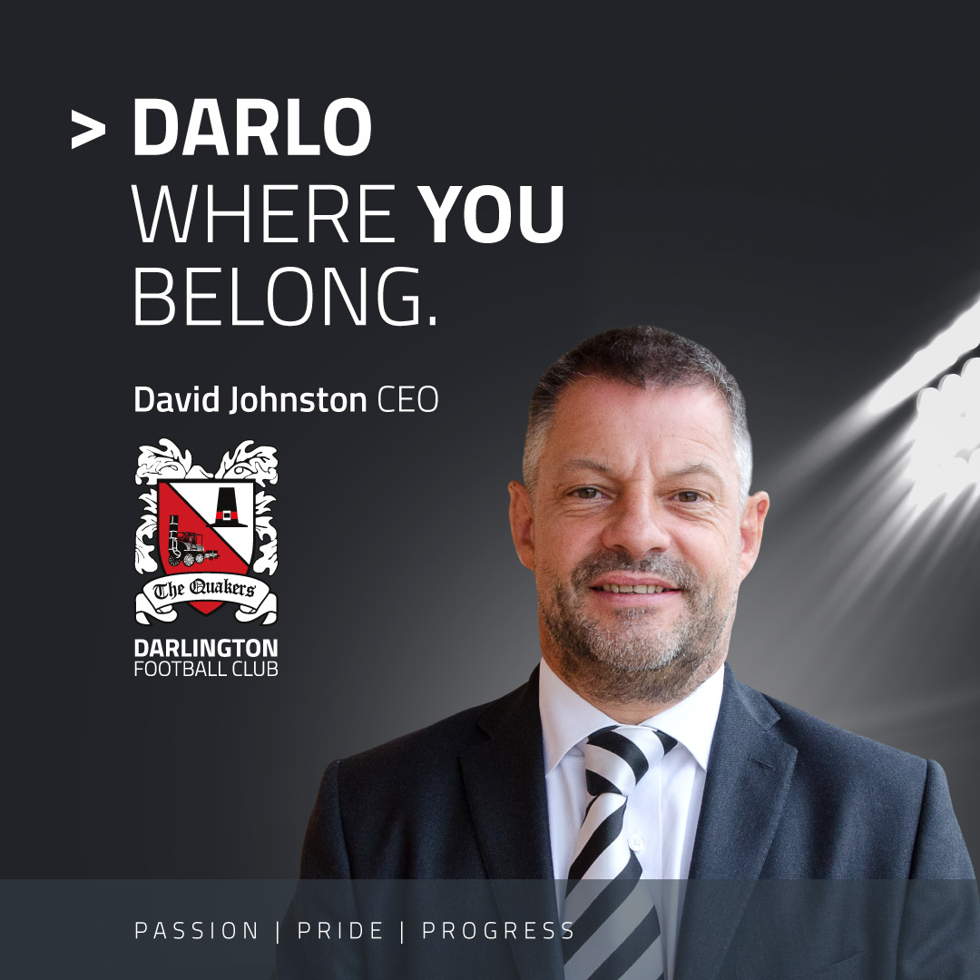 We Are Darlo: Fresh campaign for Forward-Thinking Football Club