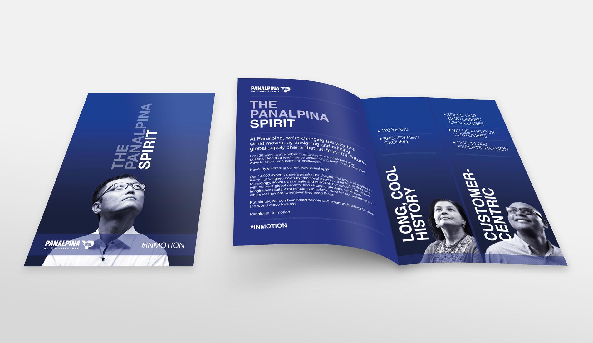 Panalpina leaflet