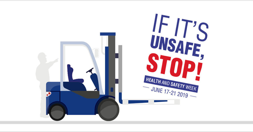 If it's unsafe, STOP! Graphic design by The Unknown Creative for Panalpina