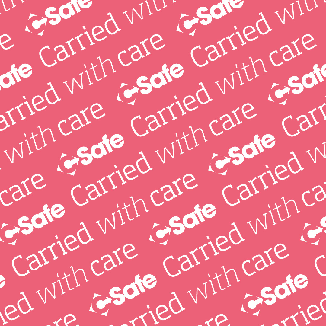 CSafe repeated pattern - pink